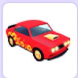 Lunar Muscle Car - Auto Naranja Adopt Me