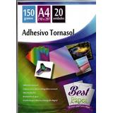 Adhesivo Tornasol 150 Gr A4 20 Hojas