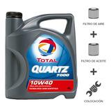 Cambio Aceite Total 7000 10w40+filtros+coloc Peug 207 1.6