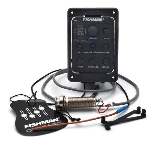 Micrófono Fishman Blend 301 Ecualizador Guitarra Acústica