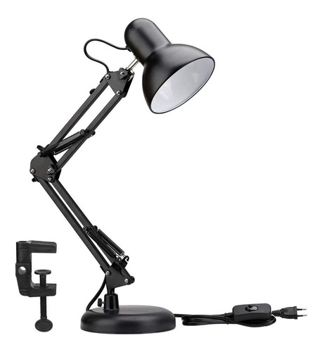 Lámpara Flexible Escritorio Estudio Dibujo Con Clip / 230001
