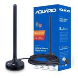 Antena Digital Interna Digital Full Hdtv 4k Aquario Dtv-100p