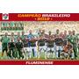 Quadro 20x30 C/ Moldura Fluminense Tetra Campeão Bras. 2012 Original