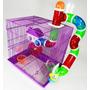 Gaiola Labirinto 3 Andares Para Hamster Original