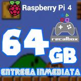 Archivo Imagen Recalbox 64g P/ Raspberry Pi 4 14miljuegos