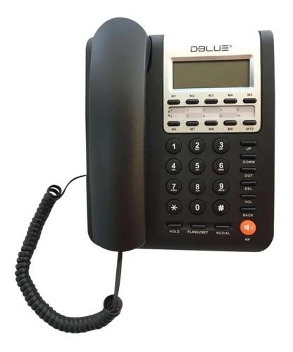 Teléfono Sobremesa Dblue Con Visor Lcd  /3gmarket