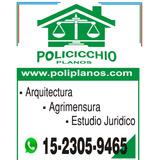 Planos Municipales Arquitectura Agrimensura Estudio Juridico