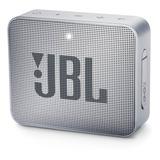 Parlante Jbl Go 2 Portátil Con Bluetooth Ash Gray 110v/220v