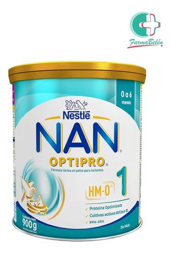 Leche Nestlé Nan Optipro 1 (0 A 6 Meses) Lata X900 Ml
