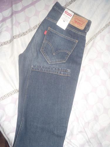 Pantalon Levis 521 Slim Taper Talla 33x34