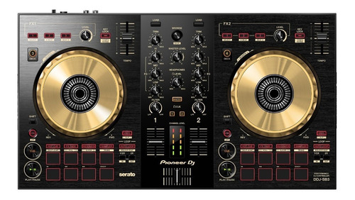 Pioneer Dj Ddj Sb3 2 Canales Edición Limitada Gold