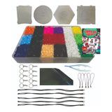 Hama Beads, Kit 9000 Plus, 9000 Piezas Midi 5mm Y Accesorios