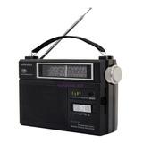 Radio Portatil Am Fm Enchufe O Pila Gran Parlante Winco 2004