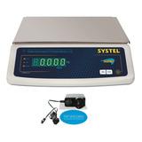 Balanza Systel Bumer 31 Kg C/bateria Industria Y Gastronomia Digital Service Delta