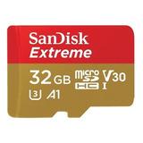 Tarjeta De Memoria Sandisk Sdsqxaf-032g-gn6aa Extreme Con Adaptador Sd 32gb