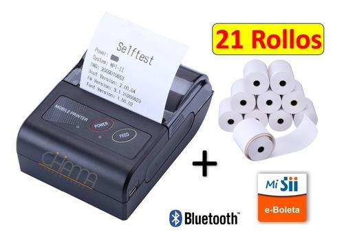 Impresora Térmica Bluetooth 58mm