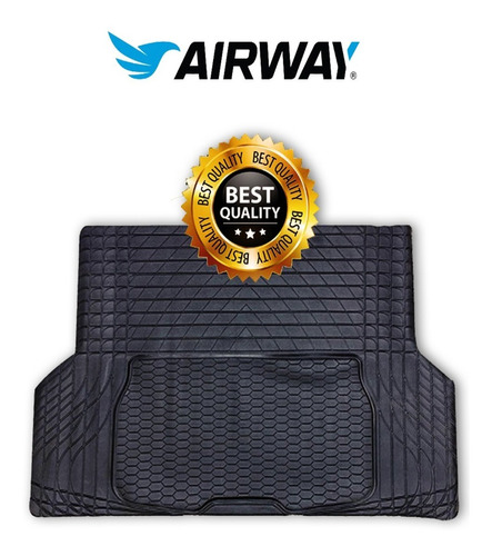 Cubre Alfombra Auto Pvc Baul Reforzada Airway Universal!