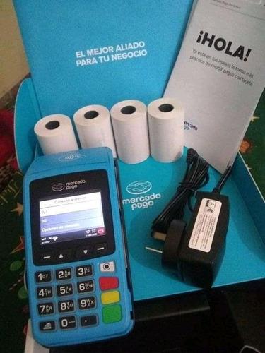 Mercado Pago Point Plus C/ Chip Celular + Impresora + Rollos