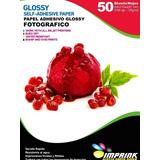 Papel Adhesivo Glossy A4/135g 500hojas . Envio Gratis