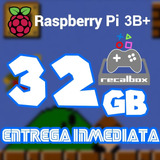Archivo Imagen Recalbox 32g P/ Raspberry Pi 3b/b+ 10miljuego