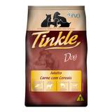 Ração Tinkle Para Cães Adultos Sabor Carne 15kg