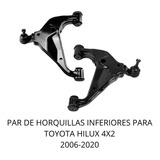Par De Horquilla Inferior Para Toyota Hilux 4x2 2006-2020
