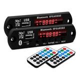 2 Placas Amplificador Módulo Pendrive Bluetooth Usb P2 Sd Fm