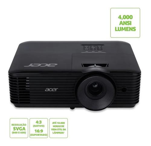 Projetor Acer X1126ah 4000 Ansi Lumens Svga 20.000:1 Cont Hd
