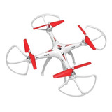 Drone Polibrinq Vectron Branco E Vermelho