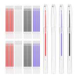 Bolígrafos Borrables Con Calor Para 4 Colores 13 Piezas