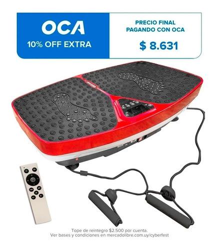 Plataforma Vibratoria Profesional Masajeador + Control