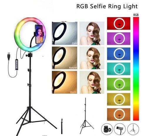 Anillo Aro Luz Led Selfie Fotografía 26cm+ Trípode 1.60cm