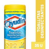 Ayudin Toallitas Desinfectantes Limon