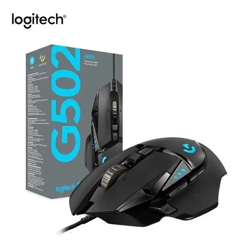 Mouse Gamer Logitech G502 Hero 16.000dpi Lightsync Superplay