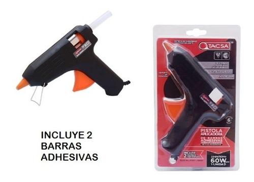 Pistola Aplicadora De Adhesivo En Barra Hotmelt 60w -tacsa-