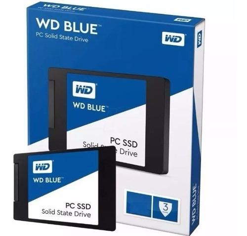 Disco Solido Ssd Western Digital Blue 500gb Sata 3 6gb/s 2,5
