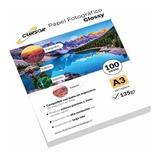 Papel Fotográfico Glossy A3 135 Gr 100 Hojas Cursor