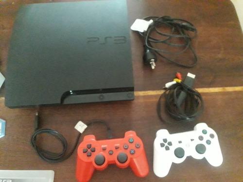 Playstation 3 (160 Gb), Dos Joystick Y 10 Juegos