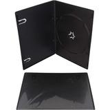 Cajas De 5mm Slim Para Dvd Importadas X 100 Unidades