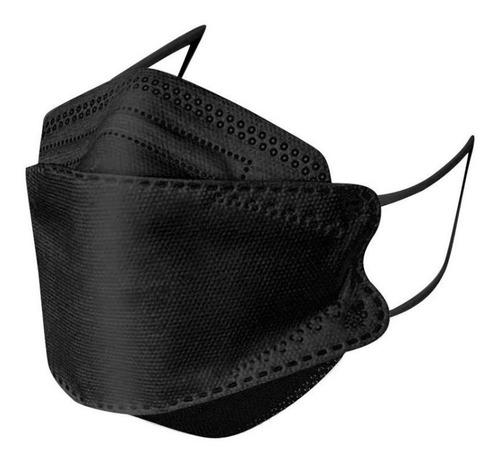 Mascarillas Kn95 Ce Fda - Gb2626 - 5 Capas Negro De Fabrica