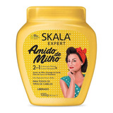 Crema Skala Amido De Milho 1000gr Máscara Vegana 2 En 1