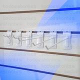100 Blistero Gancho Para Panel Ranurado 20cm Todo-estantes
