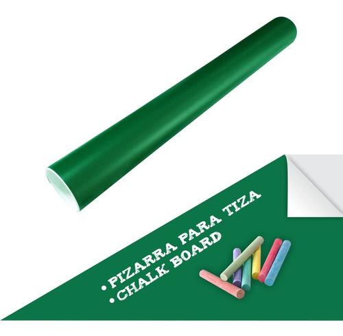 Pizarra Verde Adhesiva 100x60cm X50uds