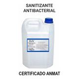 Sanitizante Liquido 70% Bidón 5 Litros Certificado Anmat