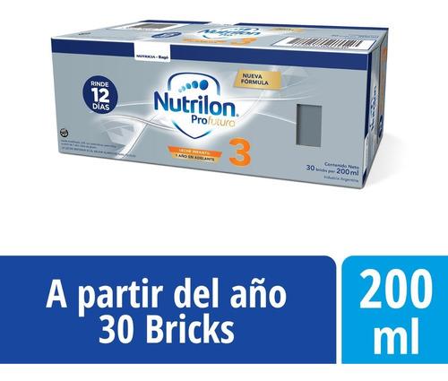 Nutrilon 3 (12 A 18m) Pack 30u 200ml