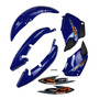Kit Carenagem Cg 125 Titan 125 2000 Ks Azul Adesivo Original