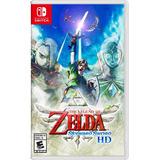 Juego Nintendo Switch Tloz Skyward Sword