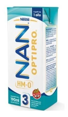 Leche Nan Optipro Nestle 3 (más De 1 Año) 190 Ml