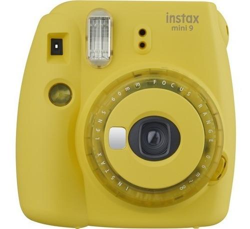 Fujifilm Camara Instantanea Fuji Instax Mini 9 Amarilla
