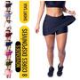 Short Saia Fitness Academia Bermuda Legging Suplex Original